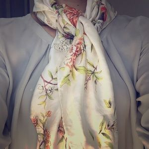 Accessories - Roberto Cavalli Square silk scarve